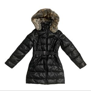 Laundry by Design Puffer belted coat